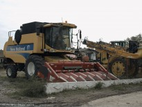 Utilaje agricole la ferma din Slobozia