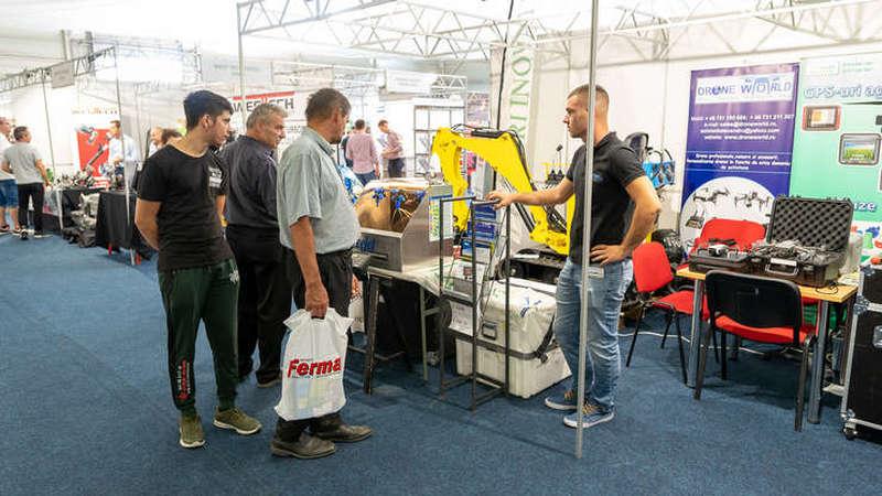 Stand cu drone agricole la AgromAlim