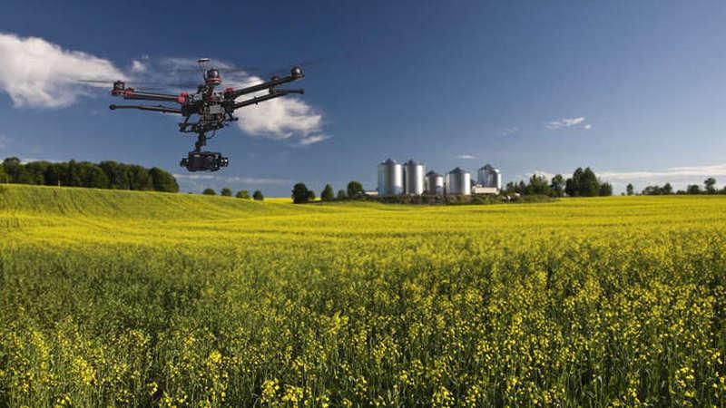 Drona cu senzori utilizata in agricultura
