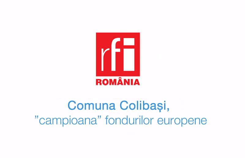 """Comuna Colibași, """"campioana"""" fondurilor europene"""
