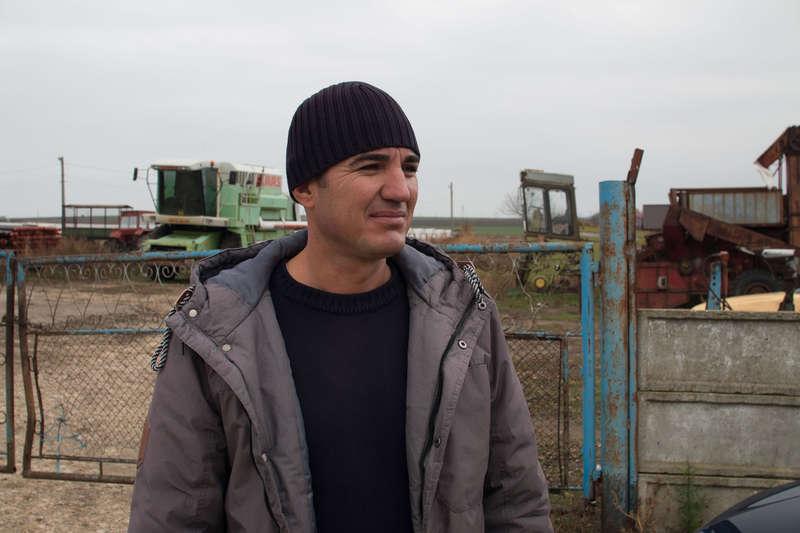 Suliman Sesnur, fermier din satul Poiana
