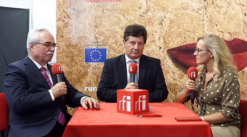 Invitati in studioul mobil RFI Romania la AgromAlim