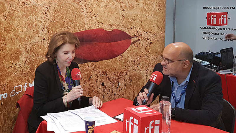 Michèle Ramis si Ovidiu Nahoi