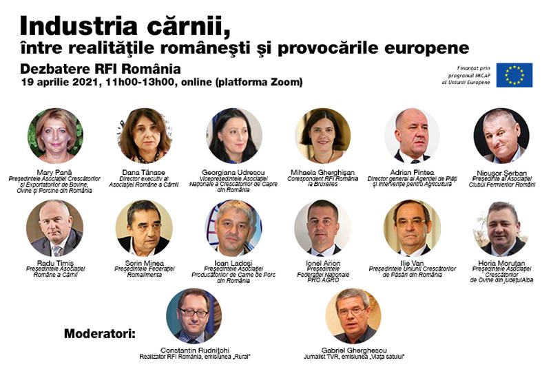 Dezbatere RFI România: Industria cărnii, între realitățile românești și provocările europene