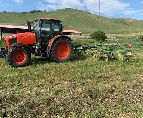 Tractor cu AI - Ferma Cojocna, @ USAMV Cluj-Napoca